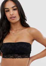 Load image into Gallery viewer, Black Lace Bandeau