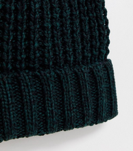 Load image into Gallery viewer, Bottle Green Chunky Knit Beanie