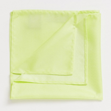 Load image into Gallery viewer, Neon Yellow Pocket Square