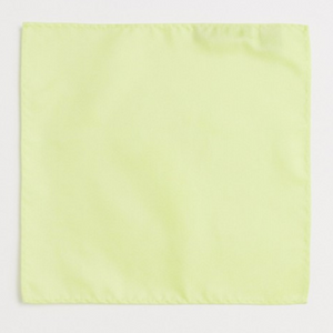 Neon Yellow Pocket Square