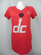 Load image into Gallery viewer, Washington DC Basketball Women's Adidas V-Neck T-Shirt
