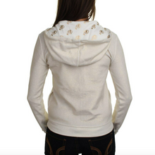 Load image into Gallery viewer, Washington Redskins Couture Cream & Gold Women's Hoodie