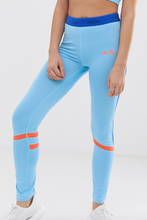 Load image into Gallery viewer, Blue Ellesse Sports Leggings
