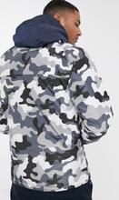 Load image into Gallery viewer, Gray Camo Print Jacket
