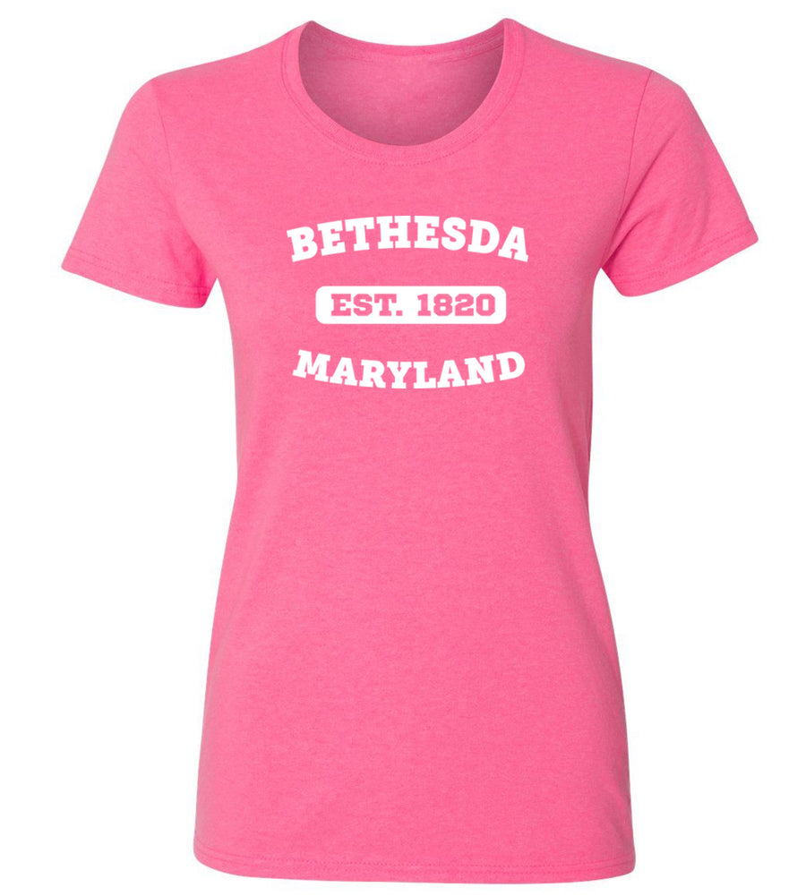 Women's Bethesda Maryland T-Shirt