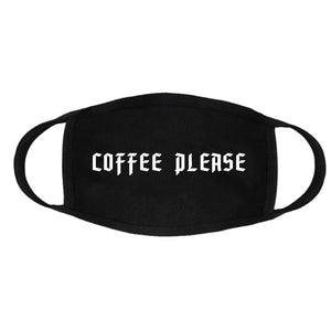 Coffee Please Face Mask