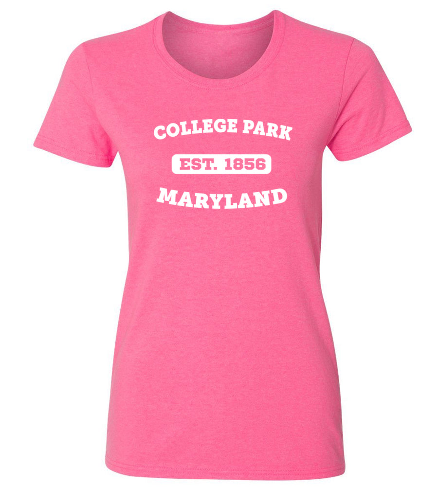 Women's College Park Maryland T-Shirt