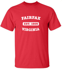 Load image into Gallery viewer, Fairfax Virginia T-Shirt