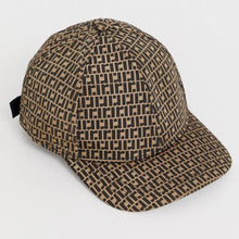 Load image into Gallery viewer, Brown Monogram Baseball Cap