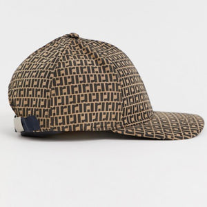 Brown Monogram Baseball Cap