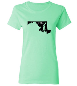 Women's Maryland Life T-Shirt