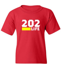 Load image into Gallery viewer, Kids 202 Life T-Shirt