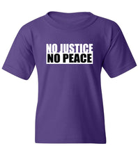 Load image into Gallery viewer, Kids No Justice No Peace T-Shirt