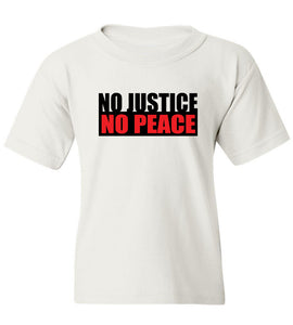 Kids No Justice No Peace T-Shirt