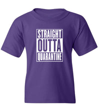 Load image into Gallery viewer, Kids Straight Outta Quarantine T-Shirt