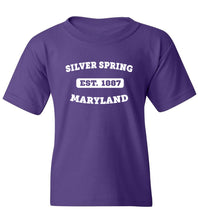 Load image into Gallery viewer, Kids Silver Spring Maryland T-Shirt