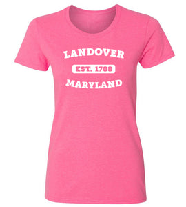 Women's Landover Maryland T-Shirt