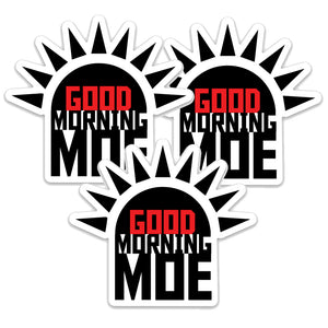 Good Morning Moe Sticker Pack