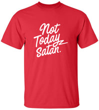 Load image into Gallery viewer, Not Today Satan T-Shirt