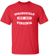 Load image into Gallery viewer, Springfield Virginia T-Shirt
