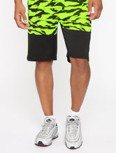 Load image into Gallery viewer, Neon Yellow and Black Shorts