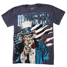 Load image into Gallery viewer, Driven Inc. Uncle Sam Graphic T-Shirt