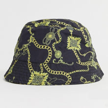 Load image into Gallery viewer, Gold Chain Print Bucket Hat