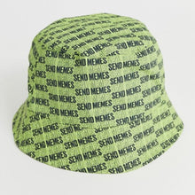 Load image into Gallery viewer, Send Memes Neon Bucket Hat