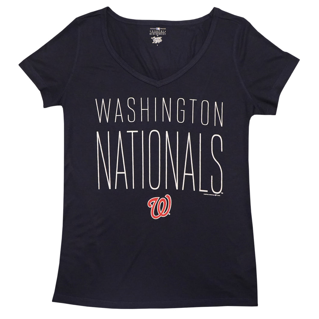 Washington Nationals Scoop Neck T-Shirt