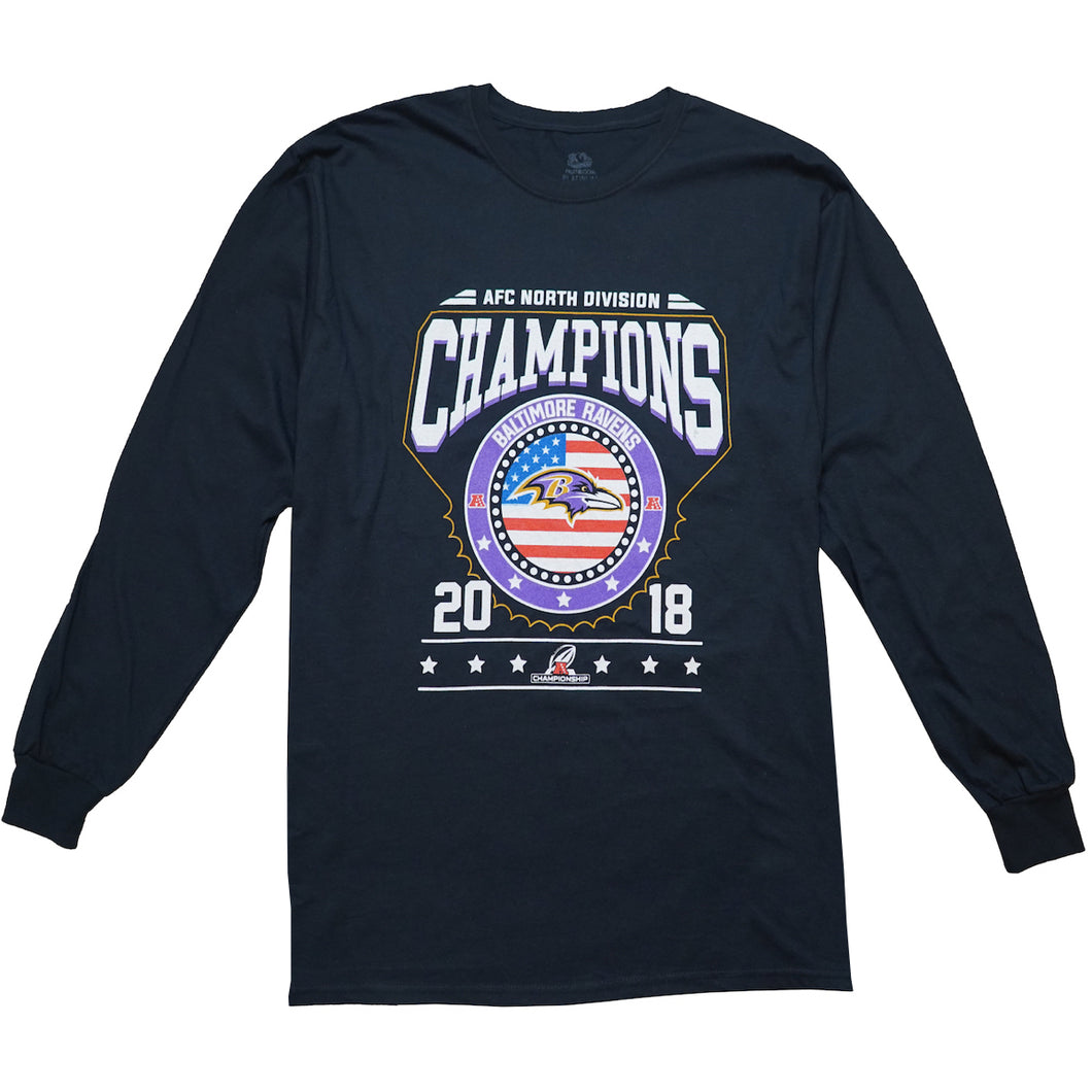 Baltimore Ravens 2018 AFC North Champions Shirt