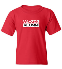 Load image into Gallery viewer, Kids VA 703 Alumni T-Shirt