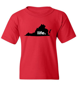 Kids Virginia Life T-Shirt