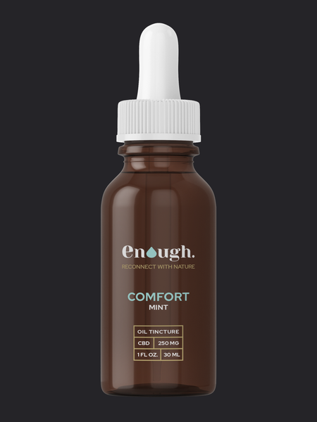 CBD HEMP OIL TINCTURE 250MG COMFORT