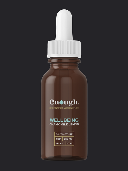 CBD HEMP OIL TINCTURE 250MG WELLBEING