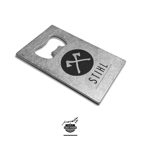custom printed credit card bottle opener usa made