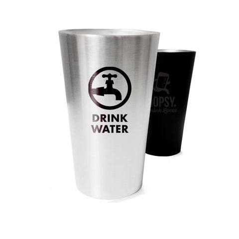 custom printed stainless steel pint cups insulated