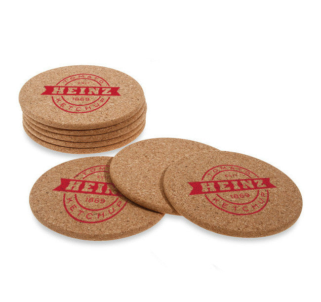 Custom Printed Coasters Eco Paperboard Personalized