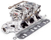 Edelbrock Dual Quad Kit RPM Air-Gap 289-302 Ford Endurashine Finish - ParkerPerformance
