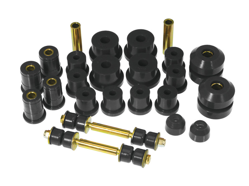 Prothane 67-73 Ford Mustang Total Kit - Black