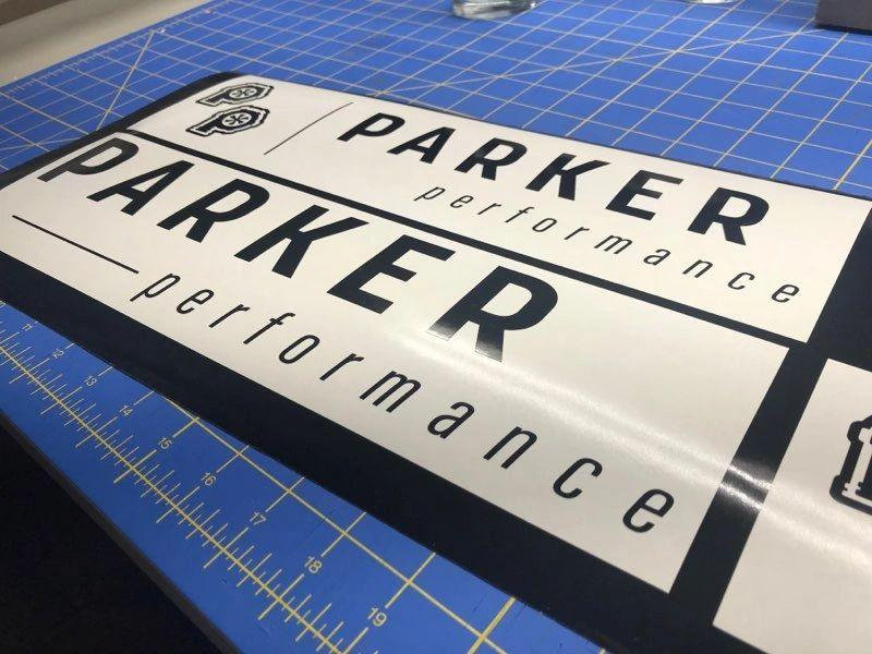 Parker Performance Window Decals - ParkerPerformance