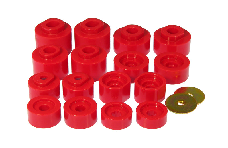 Prothane 01-05 Ford Explorer Sport Track Cab Mounts - Red