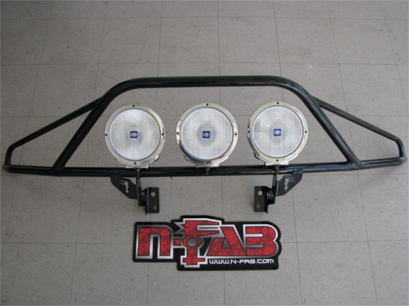 N-Fab Pre-Runner Light Bar 09-14 Ford F150/Lobo/Raptor - Tex. Black - ParkerPerformance