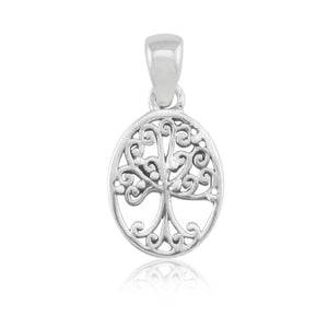 Southern Gates Small Oval Tree of Life Pendant
