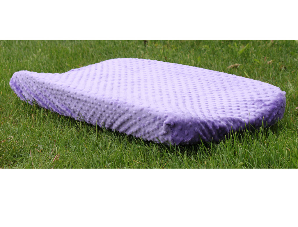 Minky Chenille Changing Pad Cover