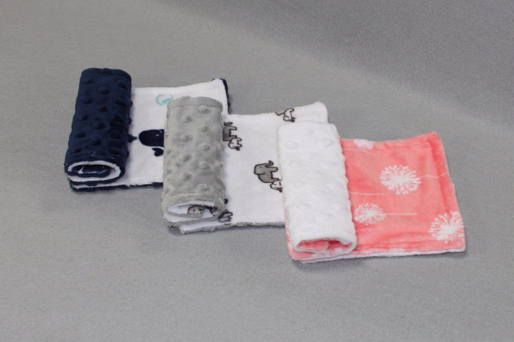 Minky Chenille Playful Prints Strap Covers