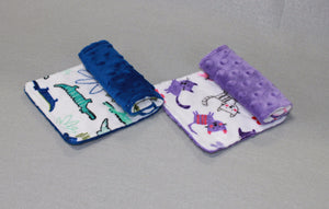 Minky Chenille Animal Fun Strap Covers