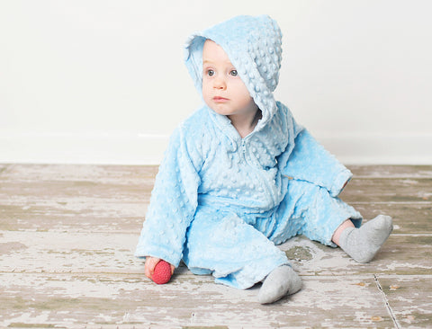 Minky Chenille Infant Lounge Set