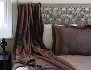 Bebe Bella Designs Minky Chenille Throw