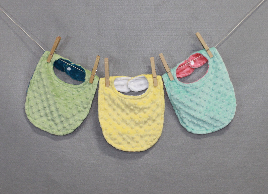 Minky Chenille Limited Edition Solid Bib