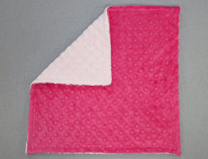 Minky Chenille Solid Blankee